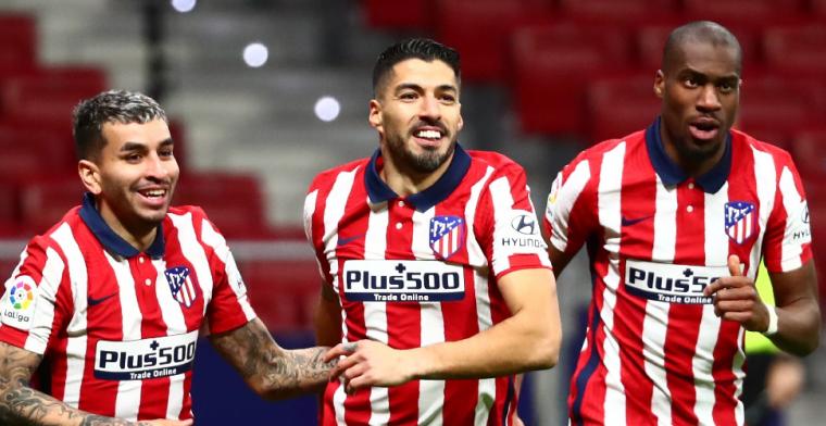 Atlético Madrid incasseert dreun in laatste minuut, toch geen heldenrol Suárez