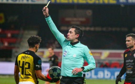 Afbeelding: Kwakman en Been furieus door minuut 1 van Excelsior-Vitesse: 'Schandalige tackle!'