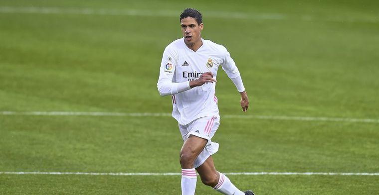 'Na Ramos ook toekomst Varane onzeker: Real Madrid overweegt transfer'