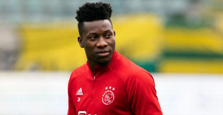 Wegvallen Onana 'horrorscenario' Ajax: 'Klaar voor transfer naar Europese topclub'