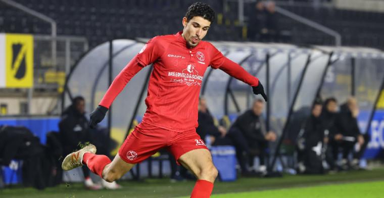 Almere City langer door met jeugdproduct Feyenoord: Een mooi moment