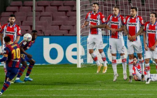 Afbeelding: Barcelona hoeft niet op zijn best te zijn om tussendoortje met 5-1 te winnen