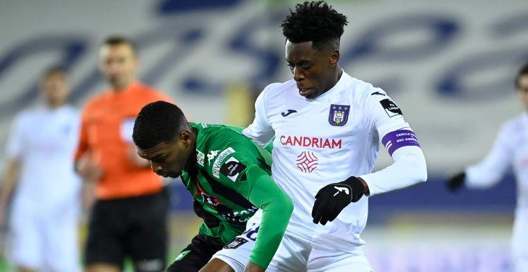 Anderlecht trekt goede lijn niet door en komt goed weg met punt in Brugge