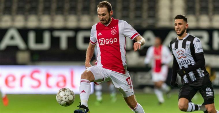 Spits van Heracles komt Ajax-shirt bezorgen: 'Het zweet van Blind zat erin'