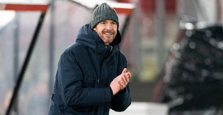 Ten Hag praat niet met Neres bij Ajax: 'De ploeg heeft het hem duidelijk gemaakt'