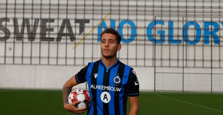 Het Club Brugge-project genaamd Daniel Perez: Het is een topspits in wording