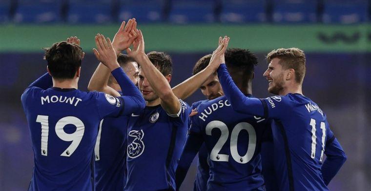 Tuchel houdt Ziyech negentig minuten op de bank en blijft maar winnen met Chelsea