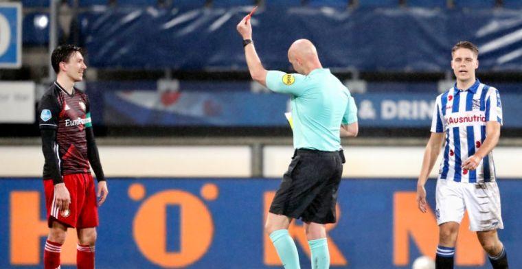 Felle kritiek op Berghuis na domme rode kaart: 'Snap ook niet wat Advocaat wilde'