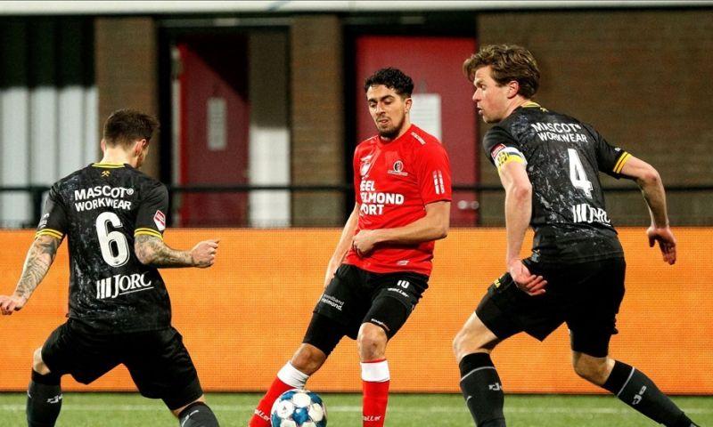 Afbeelding: Roda dankt Feyenoord-huurling en pakt in extremis drie punten in Helmond