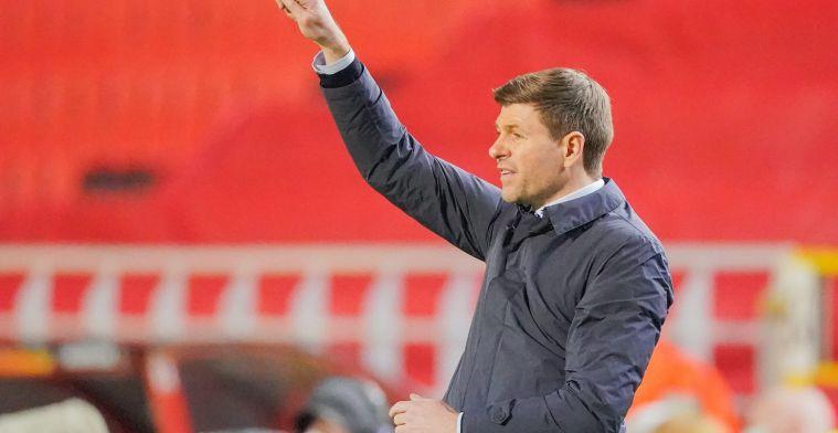 """Rangers-coach Gerrard blijft op zijn hoede: """"Antwerp kan alles nog rechttrekken"""""""