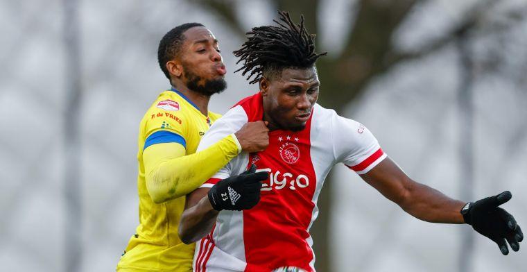 Koploper Cambuur bijt zich in Amsterdam stuk op beloftenploeg van Ajax