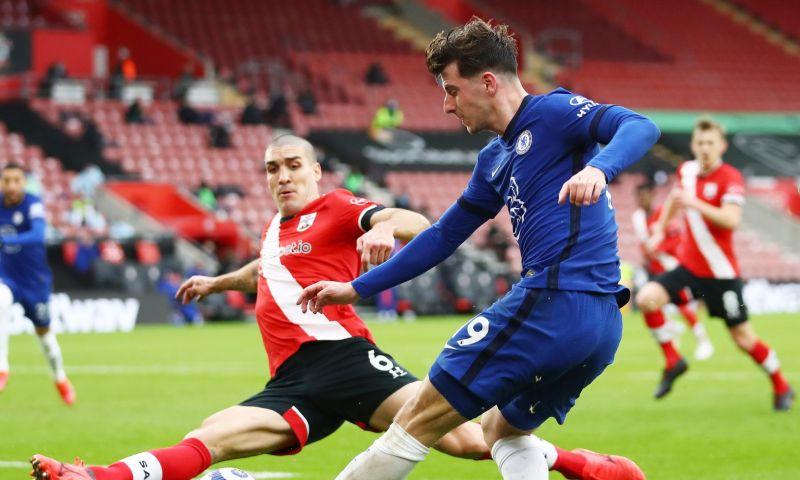 Afbeelding: Chelsea verspeelt met Ziyech twee dure punten op bezoek bij Southampton