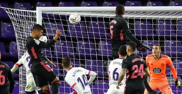 Vier op rij: Real Madrid maakt van Atlético opgejaagd wild, vlak voor stadsderby