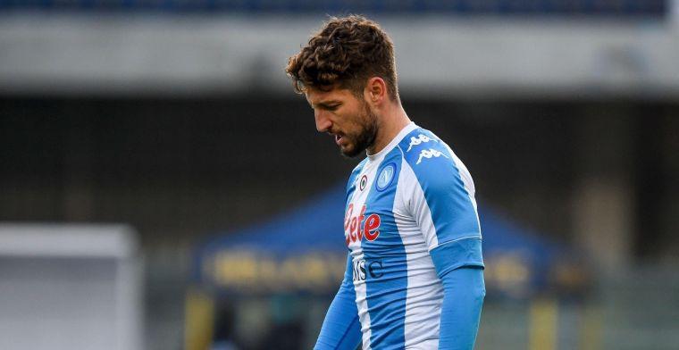 """Mertens staat weer op trainingsveld Napoli: """"Volgende dagen geëvalueerd"""""""