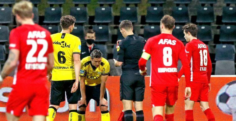 Kum krijgt opnieuw rood en pakt Eredivisie-record: 'Weinig gaat zoals ik wil, nee'