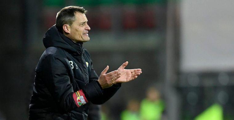 """Blessin (KV Oostende) na gelijkspel tegen Eupen: """"We zijn tevreden met een punt"""""""