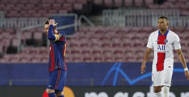 'Ik geloof dat Messi vertrekt bij Barcelona en zich bij PSG zal voegen'