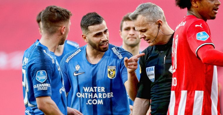 Kuipers over bepalend moment bij PSV-Vitesse: 'Prachtige sliding van Baumgartl'