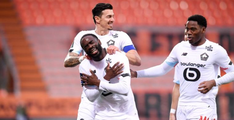 Lille maakt geen fout in Ligue 1 in aanloop naar EL-return tegen Ajax