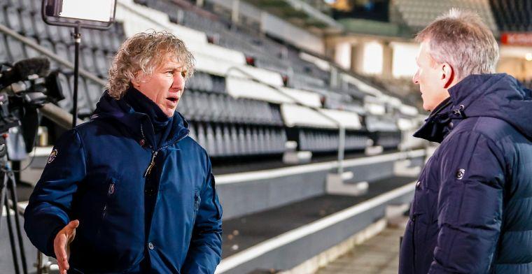 Openlijke flirts van PEC en Gertjan Verbeek onbeantwoord: 'Gaat het niet worden'