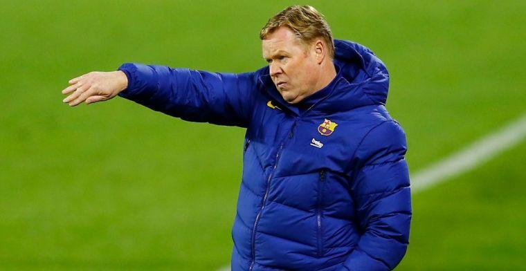Koeman aangeslagen na volgende tik voor Barça: 'Altijd hetzelfde probleem'