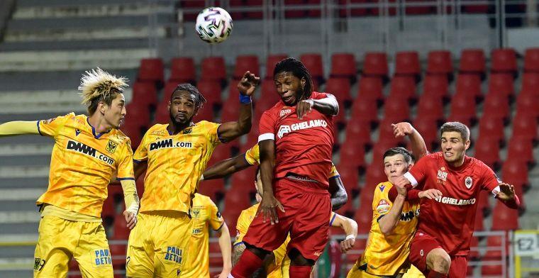 Ook Mbokani kan Antwerp niet voorbij STVV loodsen