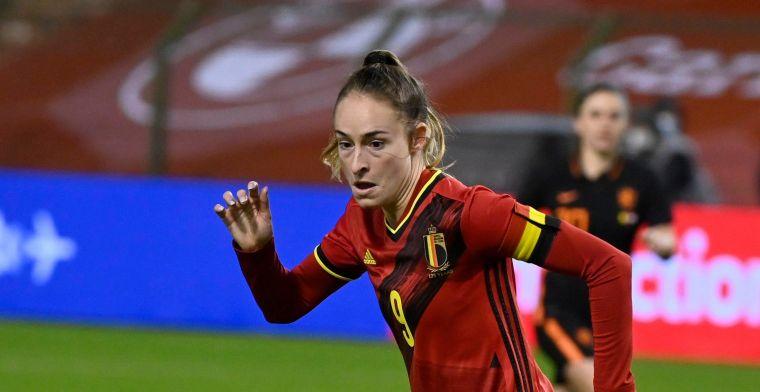 Red Flames slikken tweede opeenvolgende nederlaag tegen Duitsland