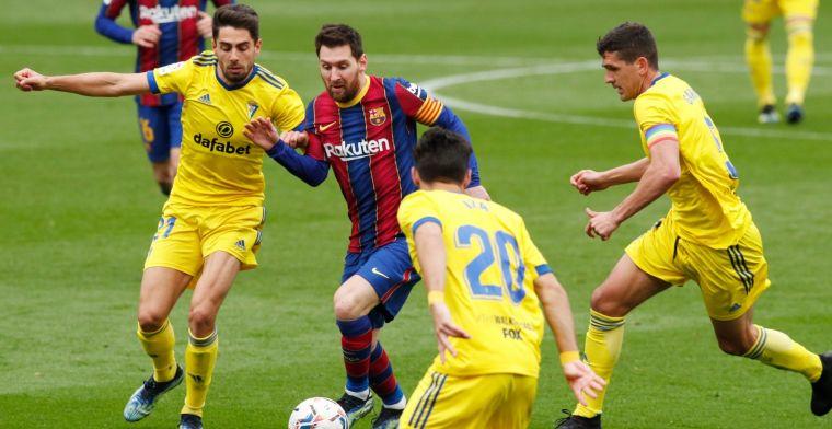 FC Barcelona geeft zege uit handen, nieuwe landstitel is heel ver weg
