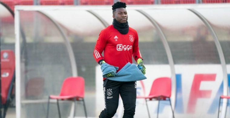 'Het in 2022 aflopende contract van Onana kan wapen zijn voor Ajax bij het CAS'
