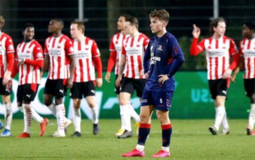 Afbeelding: Jong PSV en Helmond in evenwicht, Jong Ajax geeft winst uit handen na bizar slot