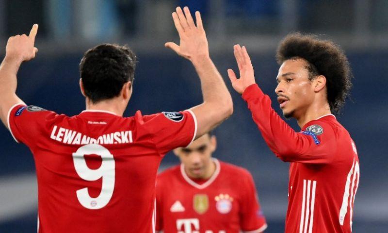 Afbeelding: Bayern met één been in kwartfinale Champions League, Lewandowski de boeken in
