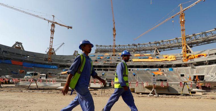 'Zeker 6500 werknemers overleden in Qatar', FIFA komt met eigen verklaring