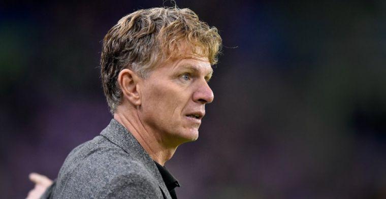 Groenendijk zegt PEC Zwolle af: 'Spelers weten dat, dat tast je aan in je gezag'