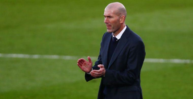 Real-coach Zidane denkt terug aan Ajax-tweeluik: 'Allebei aanvallende ploegen'