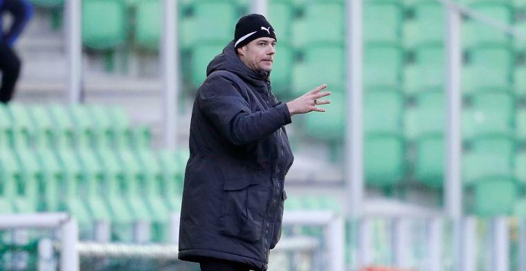 Buijs keert terug op de bank bij Groningen tegen Feyenoord: 'Was frustrerend'