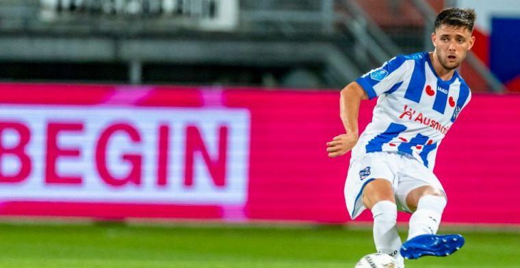 Update: Heerenveen laat verdediger vertrekken: 'Verhuur is op dit moment beste'