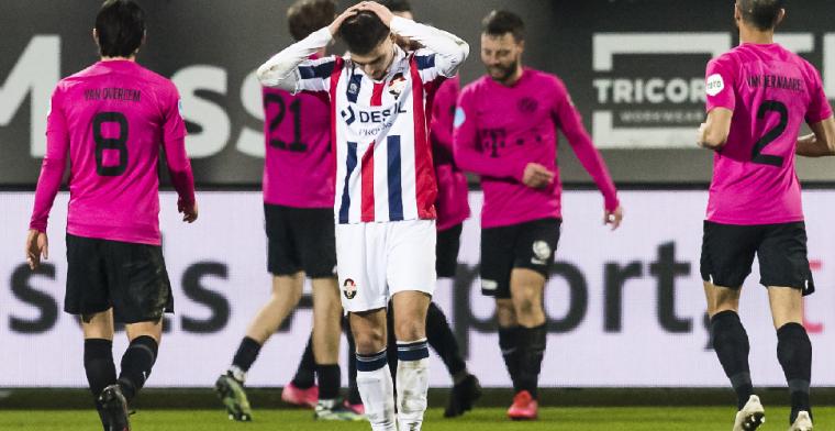 Vrees voor Willem II: 'Klinkt gek, maar Emmen heeft van de drie de beste kansen'