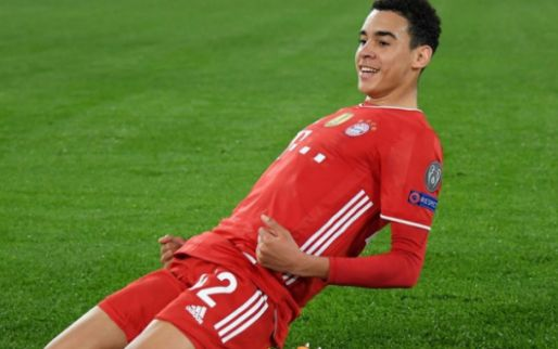Afbeelding: Musiala komt daags na CL-goal voor Bayern met nieuws: 'Land waar ik geboren ben'