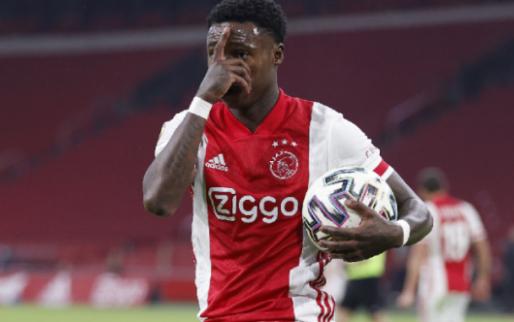 Promes neemt afscheid van Ajax: