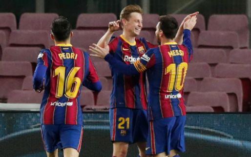 Afbeelding: Uitblinker Messi leidt Barcelona naar overtuigende zege tege Leche