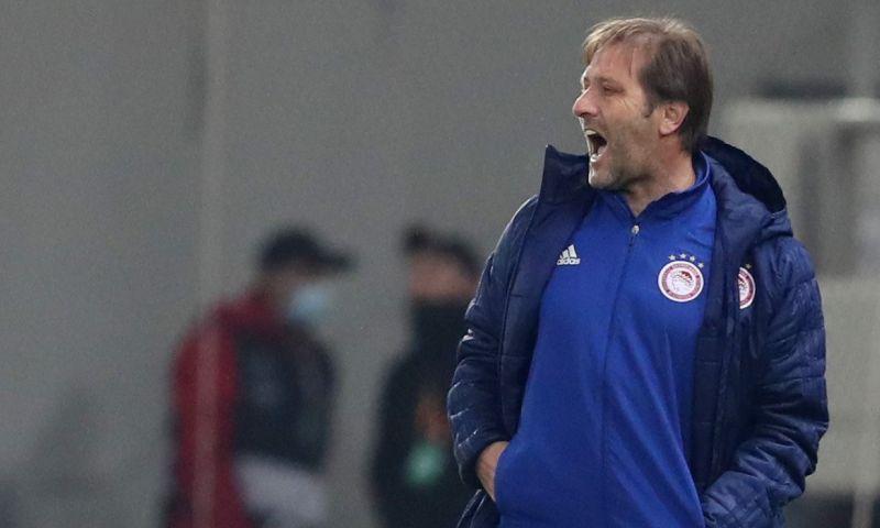 Afbeelding: Olympiakos-trainer spreekt Schmidt (PSV) tegen: