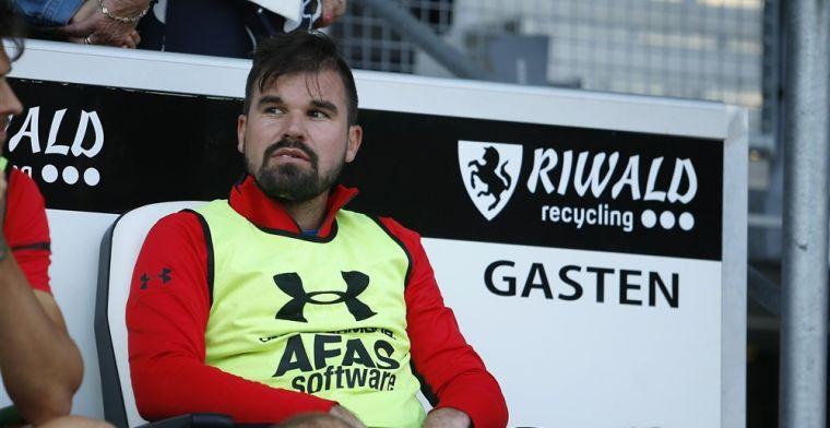 Fortuna tackelt keepersproblemen en laat voormalig Oranje-international meetrainen