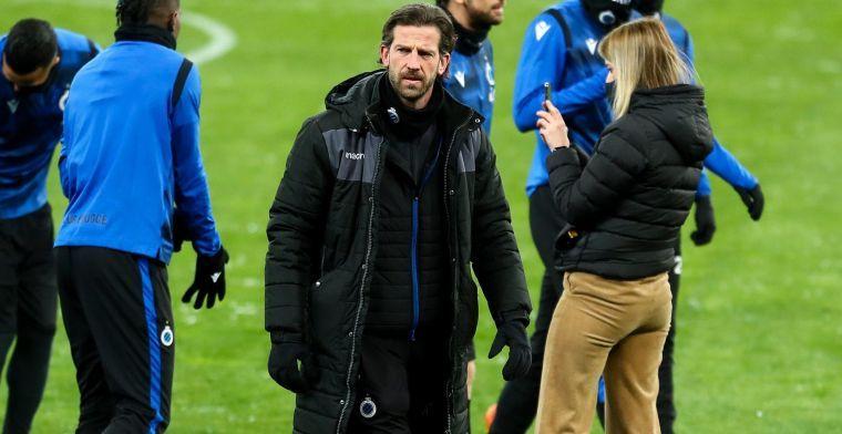 """De Mil spreekt over coronagevallen Club Brugge: """"We maken een nieuw plan op"""""""