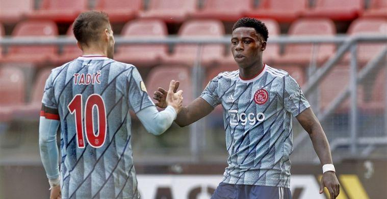 Tadic: 'Niet het beste Ajax waar ik in speelde, maar we doen het wel heel goed'