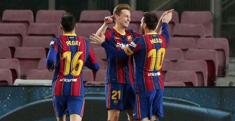 Uitblinker Messi leidt Barcelona naar overtuigende zege tege Leche