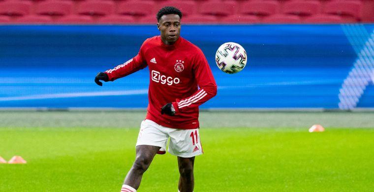 Promes emotioneel: 'Het was te kort, ik wilde mijn hele leven bij Ajax spelen'