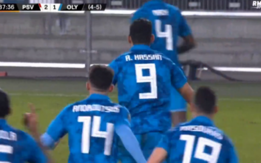 Nee toch: Olympiakos brengt PSV aan rand van de afgrond met de 2-1