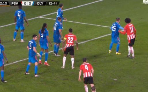 PSV heeft nog maar één goal nodig: Zahavi torent boven iedereen uit en kopt raak