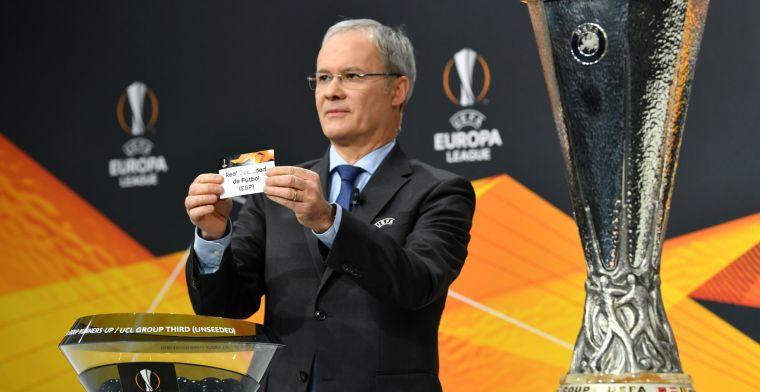 LIVE: Loting achtste finale EL bekend, Ajax treft BSC Young Boys (gesloten)