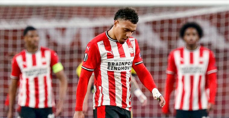 Rosario is de kop van jut bij PSV: 'Nu kost het je de volgende ronde'